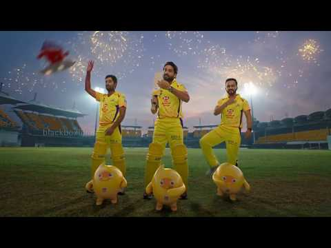 Nippon Paints - Yellow Podu Whistle Podu | CSK