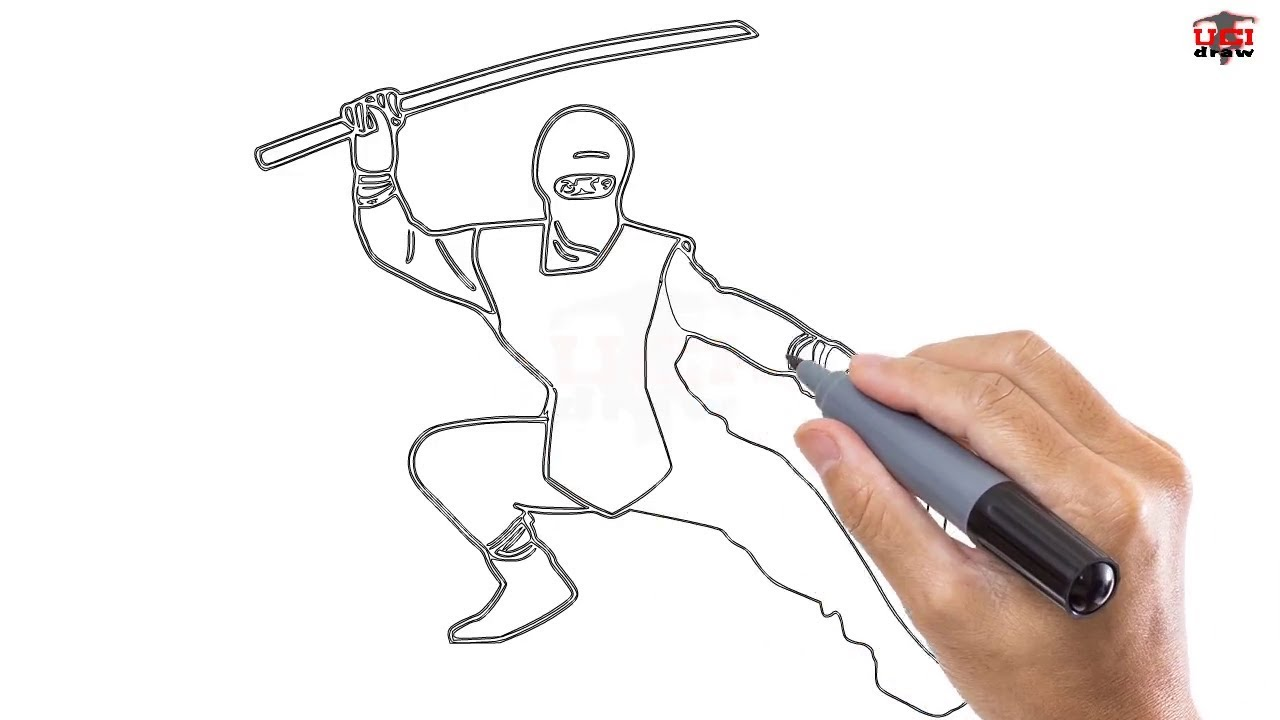 Ninja Easy Drawing
