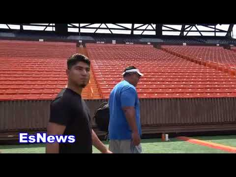 Team Mikey Garcia What Rafa Did that ended Up On TV in Hawaii