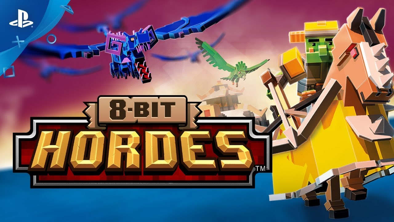 8-Bit Hordes - Launch Trailer | PS4