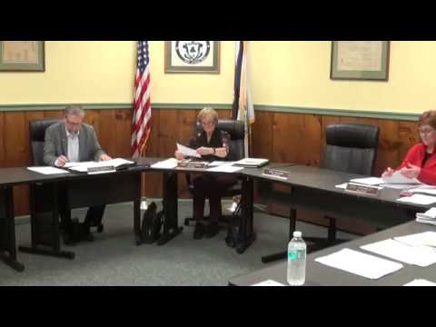 Champlain Village Board Meeting  10-7-19