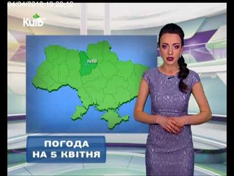 Телеканал Київ: Погода на 05.04.18