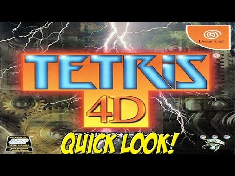 Dreamcast: Tetris 4D! Quick Look - YoVideogames