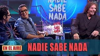 """'Nadie Sabe Nada' con Alejandro Dolina:""""A la gente le cuesta demasiado no hacer nada"""" - En el aire"""