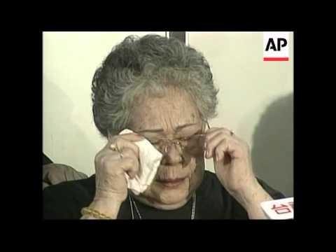 JAPAN: TAIWANESE COMFORT WOMEN SUE JAPANESE GOVERNMENT