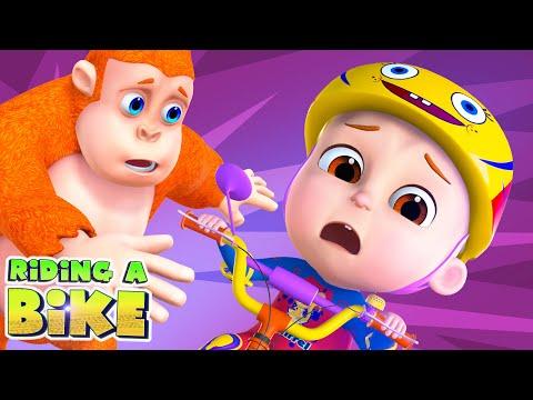 Bike Song And More | Nursery Rhymes Compilation | Videogyan 3D Rhymes & Kids Songs | Learning Songs