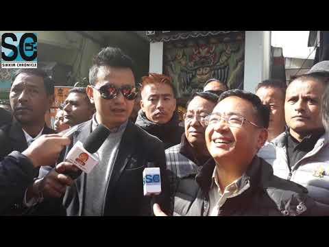 Bhaichung Bhutia and PS Goley meeting