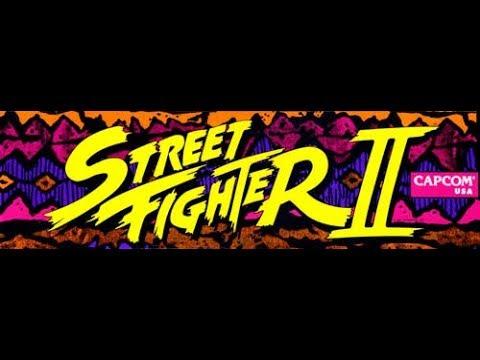 Street Fighter II: The World Warrior ARCADE - Sagat (1080p/60fps)