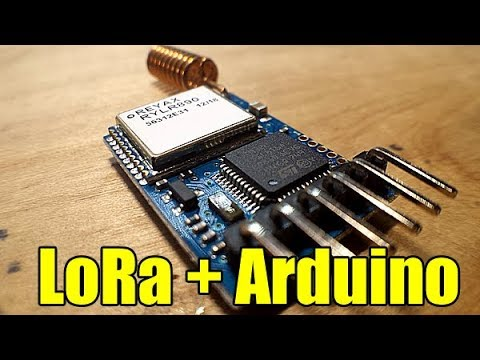 How to use LoRa with Arduino - YouTube