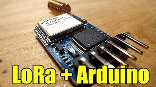 How to use LoRa with Arduino