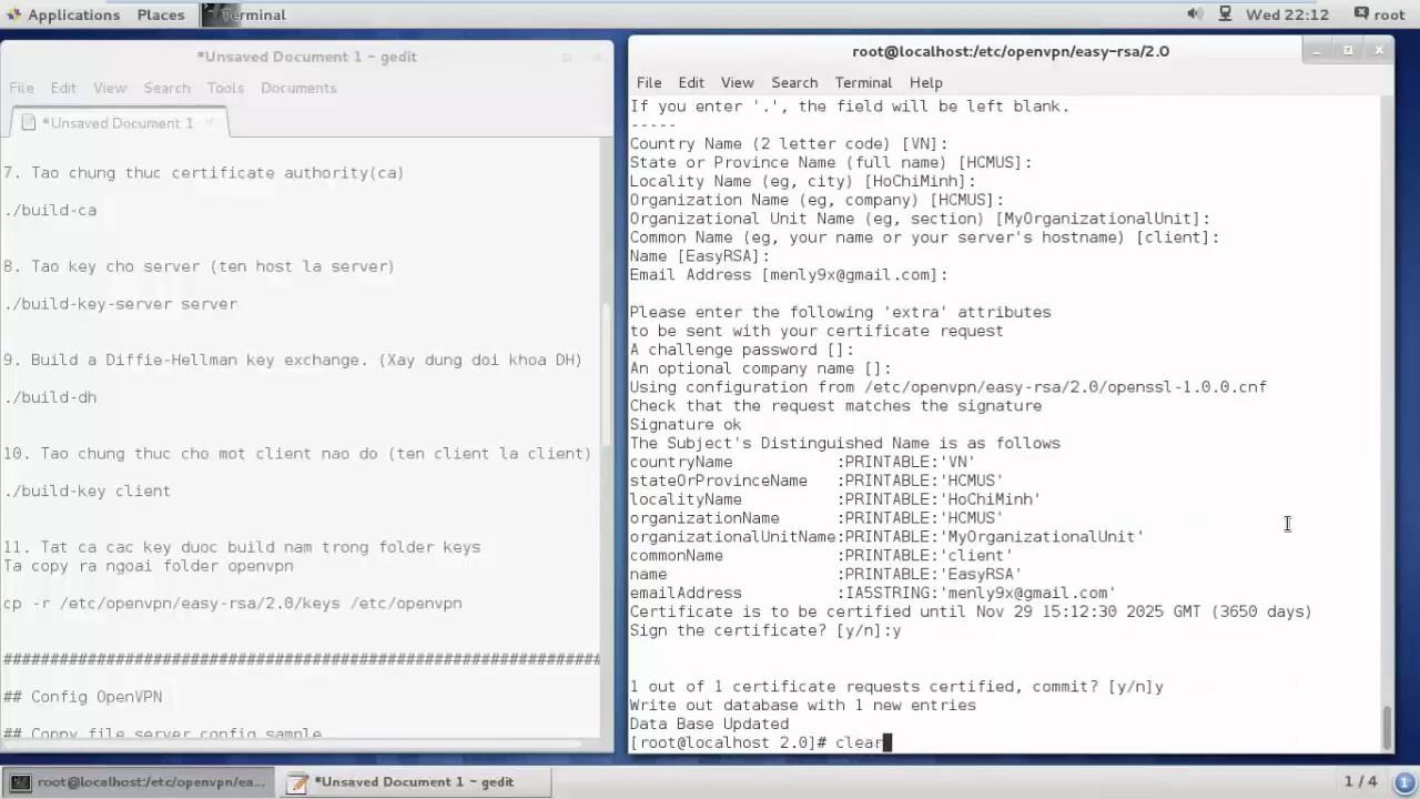 ITaP VPN - Manual Setup via L2TP