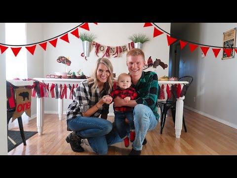 JACK'S 1ST BIRTHDAY PARTY | LUMBERJACK THEMED PARTY 🎂 🌲 🐻