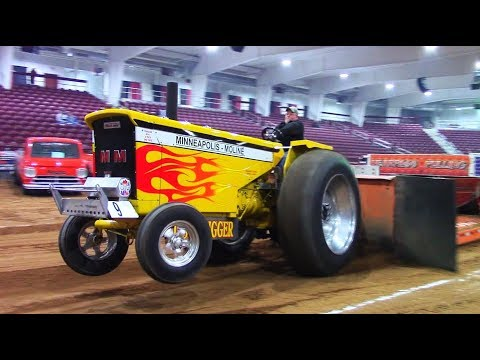 Tractor Pulls! Baddest Antique Tractor In The World! VTPA