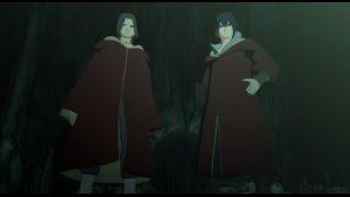 Sasuke and Itachi edo tensei vs Kabuto