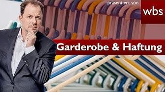 Für Garderobe keine Haftung? | Rechtsirrtümer Rechtsanwalt Christian Solmecke