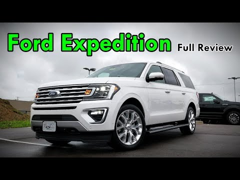2018 Ford Expedition Max: FULL REVIEW | Platinum, Limited and XLT