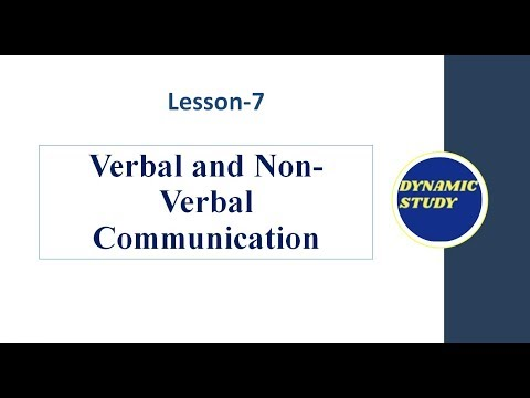 Verbal And Non-verbal Communication In Hindi