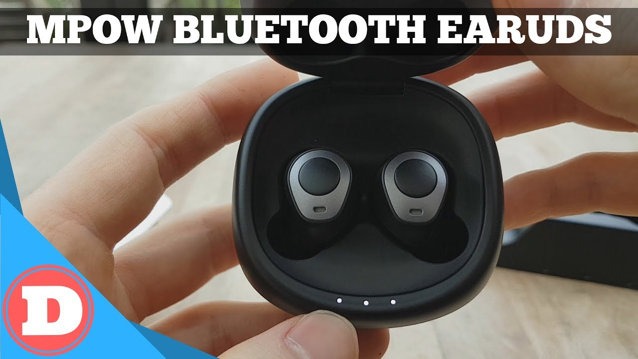 Mpow MPBH208AB Bluetooth 5 0 Earbuds - Quick Review