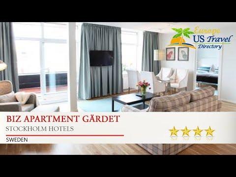 Biz Apartment Gärdet - Stockholm Hotels, Sweden