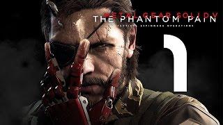 побег из больницы или полноя наркомания [Metal Gear Solid V: Phantom Pain, rus PC] #1