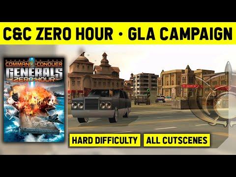 C&C Zero Hour - GLA Campaign On Hard - Walkthrough No Commentary [1080p]
