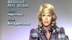 Karin Tietze-Ludwig ARD Ansage 17.9.1982