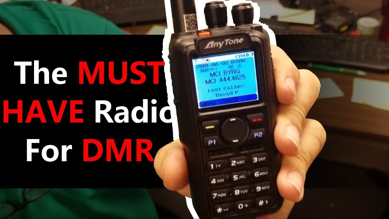The Best DMR Handheld Radio On The Market Today? — BridgeCom