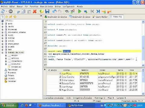 VideoTutorial 7 del Curso de PHP y MySQL