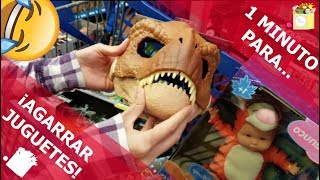 1 MINUTO PARA AGARRAR JUGUETES   RETO   Toys InDaBox