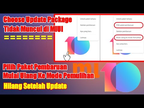 Mengatasi Choose Update