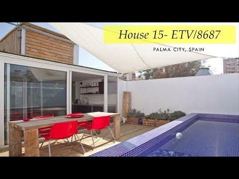 House 15- ETV/8687: Tiny Container House- Palma City, Spain