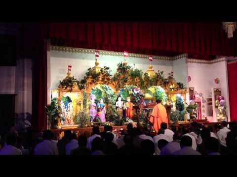 Ghanshyam's Prakatya Aarti at BAPS Mandir, Lowell, MA USA (