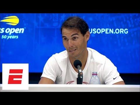 2018 US Open press conference: Rafael Nadal talks marathon match with Dominic Thiem   ESPN