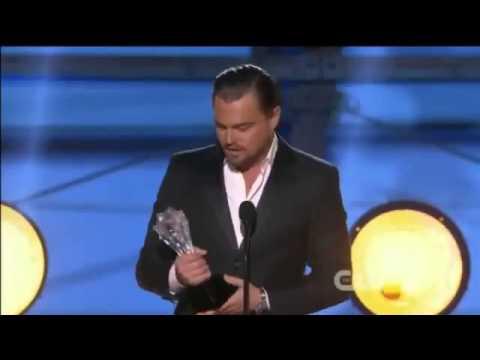 Leonardo Dicaprio WINS Critics Choice Awards 2014   Leonardo DiCaprio Acceptance Speech