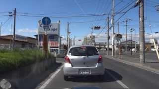 Dashcam SONY DSC-HX9V  mp4  Maebashi-Shi Gunma-Ken JAPAN