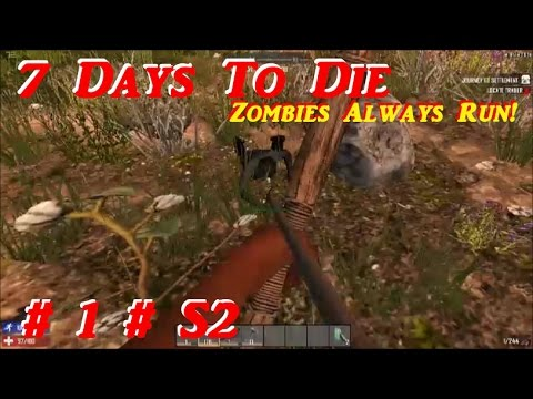 "7 Days To Die - ""Alpha 15, Day One"" - # 1 Season 2 - Alpha 15"