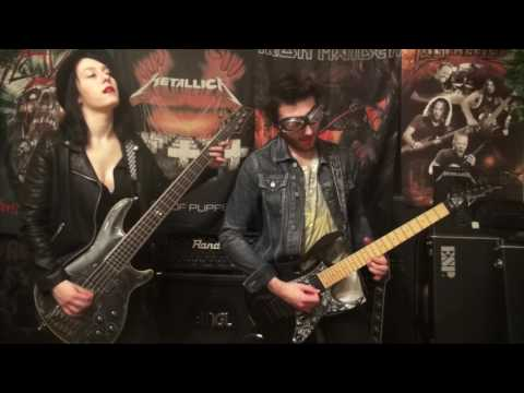 Sabaton - Gott Mit Uns (cover guitar & bass) by Thrash Yohann featuring 13