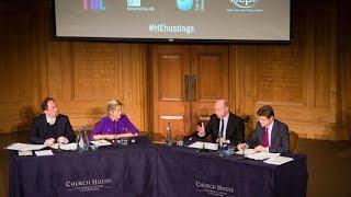 Higher Education Hustings Debate, 2015