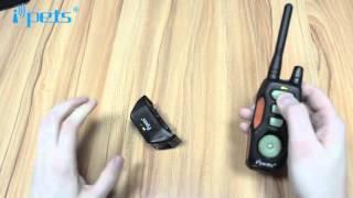 Collar de adiestramiento iPets PET618 Electropolis