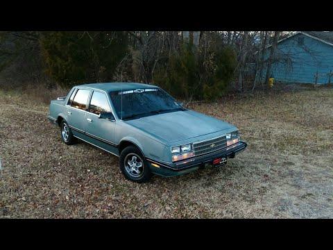 Cold Start Chevrolet Celebrity 2.8 V6