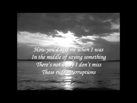 Taylor Swift - Last Kiss Lyrics