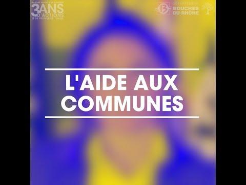 [MARTINE VASSAL] 3 ANS D'ACTIONS POUR L'AIDE AUX COMMUNES