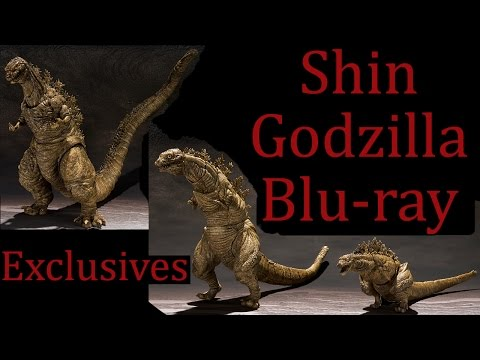 Shin Godzilla Blu-ray/DVD News: S.H. MonsterArts Exclusives