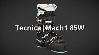 2018 Tecnica Mach1 85W MV Womens Boot Overview by SkisDotCom
