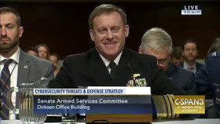 2017 05 09 US NSA Admiral Rogers Cybersecurity Threats and Defense Strategy