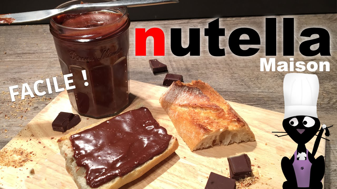 comment faire du nutella maison recette facile youtube. Black Bedroom Furniture Sets. Home Design Ideas