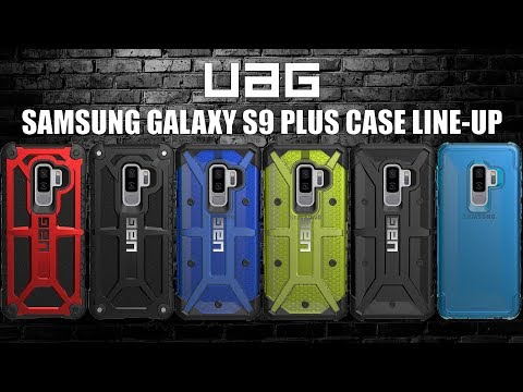 Samsung Galaxy S9 Plus UAG Case Linen - Up - Monarch - Pathfinder - Plasma - Plyo
