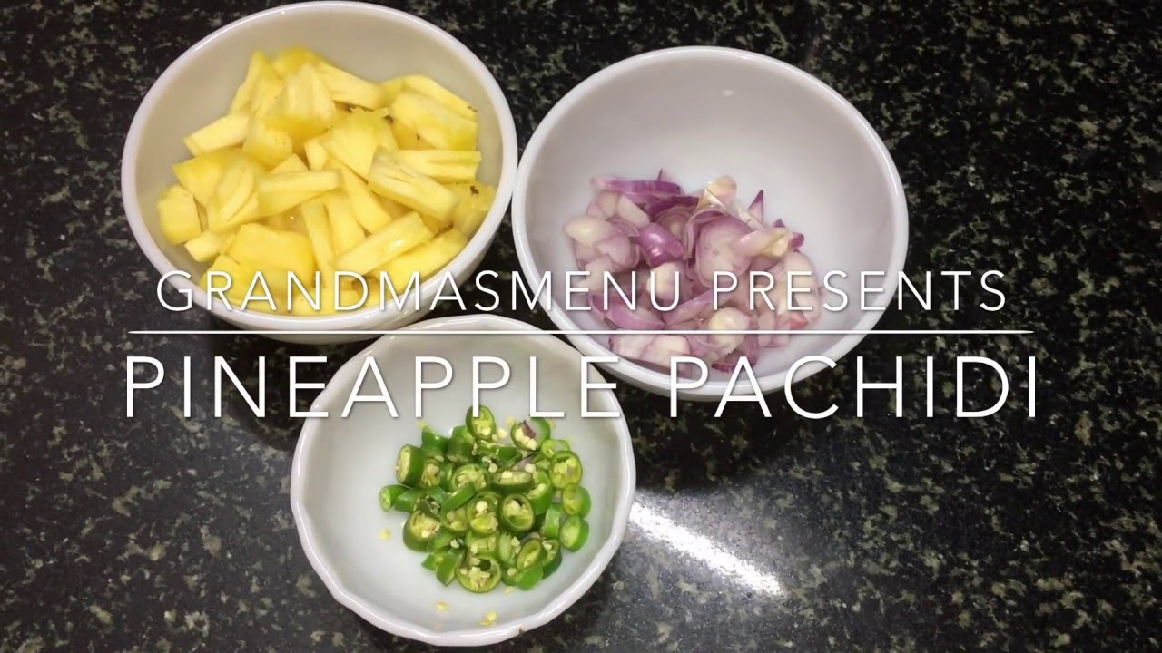 Pineapple pachadi recipe in malayalam youtube pineapple pachadi recipe in malayalam forumfinder Images