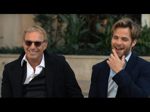 Kevin Costner and Chris Pine Interview: Costner Gets Second Chance at 'Jack Ryan' Movie