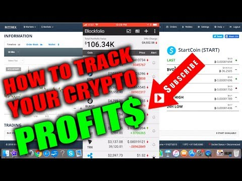 How To Track Your Favorite CryptoCurrencies - BEST Alt Coin & Bitcoin Portfolio Phone App